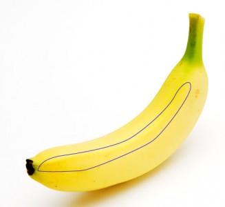 バナナの角