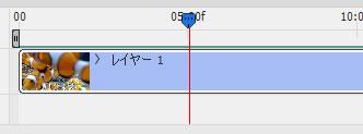 再生位置を示す赤いライン