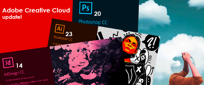 Adobe Creative Cloud update!
